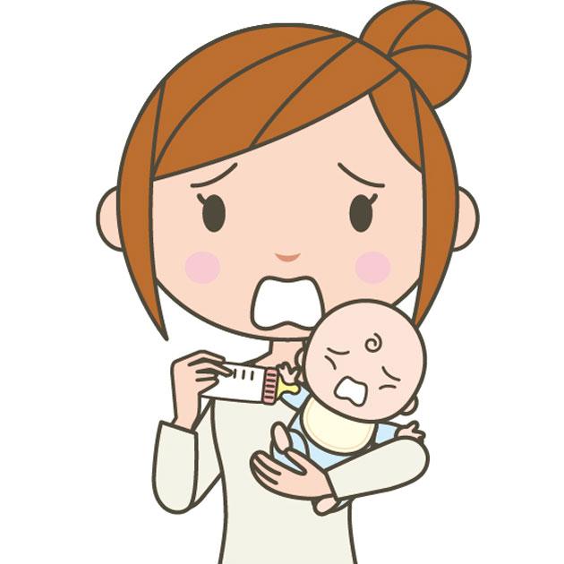 むせる 赤ちゃん ミルク